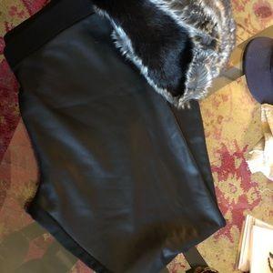 Pants - Faux leather leggings sz xl NEW w tags